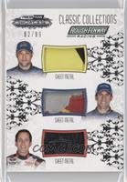 Matt Kenseth, Carl Edwards, Greg Biffle /99