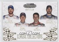 Dale Earnhardt Jr., Kasey Kahne, Jeff Gordon, Jimmie Johnson /125