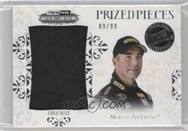 2012 Press Pass Showcase Prized Pieces Memorabilia #PP-MA - Marcos Ambrose /99