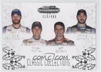 Dale Earnhardt Jr., Kasey Kahne, Jeff Gordon, Jimmie Johnson /499