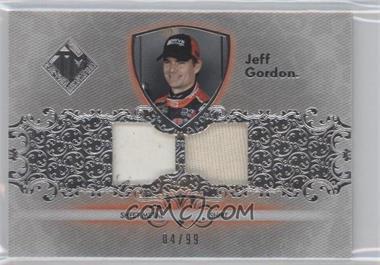 2012 Press Pass Total Memorabilia - Dual Swatch - Silver #TM-JG1 - Jeff Gordon /99