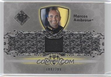 2012 Press Pass Total Memorabilia - Single Swatch - Silver #TM-MA - Marcos Ambrose /299