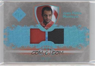 2012 Press Pass Total Memorabilia Dual Swatch Holofoil #TM-JPM - Juan Pablo Montoya /25