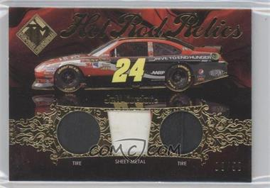 2012 Press Pass Total Memorabilia Hot Rod Relics Gold #HRR-N/A - Jeff Gordon /50