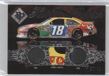 2012 Press Pass Total Memorabilia Hot Rod Relics Silver #HRR-KYB - Kyle Busch /99