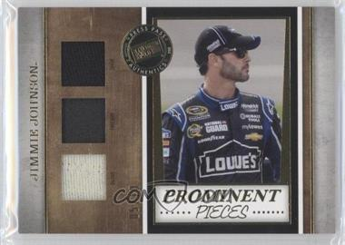 2013 Press Pass Legends - Prominent Pieces - Gold #PP-11 - Jimmie Johnson