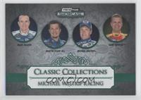 Mark Martin, Martin Truex Jr., Michael Waltrip, Clint Bowyer /20