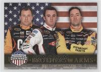 Brothers In Arms - Ryan Newman, Austin Dillon, Paul Menard