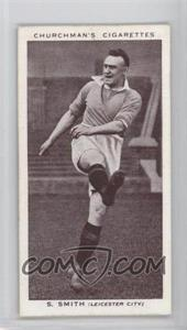1938 Churchman's Association Footballers - Tobacco [Base] #40 - Septimus Smith