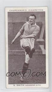 1938 Churchman's Association Footballers Tobacco [Base] #40 - Septimus Smith