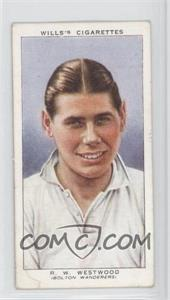 1939 Wills Association Footballers - Tobacco [Base] #47 - Raymond Westwood [GoodtoVG‑EX]