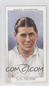 1939 Wills Association Footballers Tobacco [Base] #47 - Raymond Westwood [Good to VG‑EX]