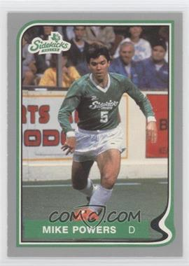 1987-88 Pacific MISL - [Base] #10 - Mike Powers