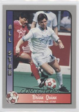 1990-91 Pacific MSL - [Base] #180 - Brian Quinn