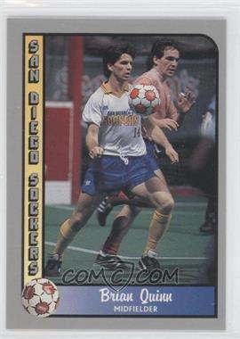 1990-91 Pacific MSL #1 - Brian Quinn