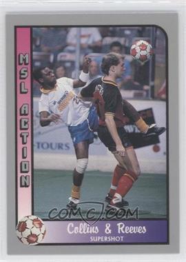 1990-91 Pacific MSL #208 - Ben Collins, Dev Reeves
