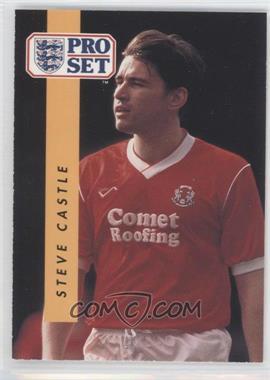 1990-91 Pro Set - [Base] #310 - Steve Castle
