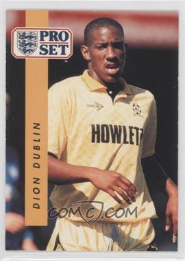 1990-91 Pro Set - [Base] #319 - Dion Dublin