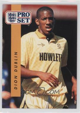 1990-91 Pro Set #319 - Dion Dublin