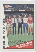 Tacoma Stars All-Stars (Gary Heale, Ralph Black, Cris Vaccaro, Keith Weller)
