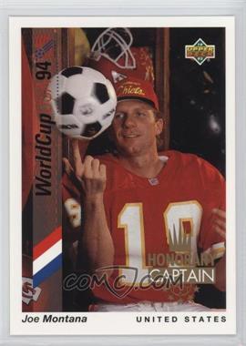 1993 Upper Deck World Cup 94 Preview English/Spanish - Honorary Captain #HC2 - Joe Montana