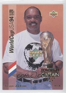 1993 Upper Deck World Cup 94 Preview English/Spanish Honorary Captain Gold #HC1 - Reggie Jackson