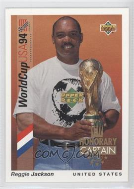 1993 Upper Deck World Cup 94 Preview English/Spanish Honorary Captain #HC1 - Reggie Jackson