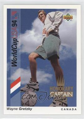 1993 Upper Deck World Cup 94 Preview English/Spanish Honorary Captain #HC4 - Wayne Gretzky