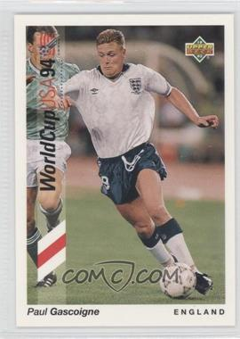 1993 Upper Deck World Cup 94 Preview English/Spanish Promo #WC-P5 - Paul Gascoigne