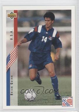 1994 Upper Deck World Cup English/Spanish - [Base] #25 - Brian Quinn