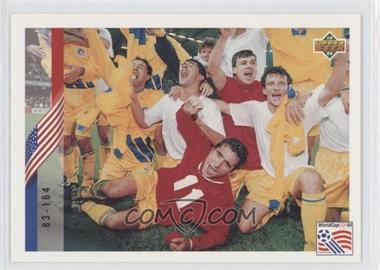 1994 Upper Deck World Cup English/Spanish - [Base] #278 - Check List 83-164