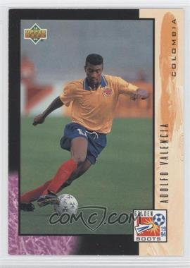 1994 Upper Deck World Cup English/Spanish - [Base] #328 - Adolfo Valencia