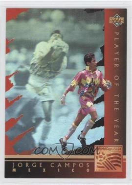 1994 Upper Deck World Cup English/Spanish - Holograms #WC6 - Jorge Campos