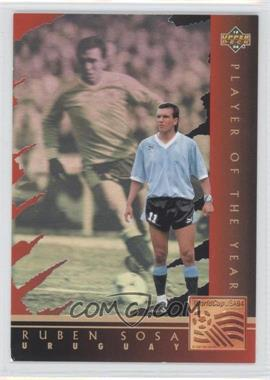 1994 Upper Deck World Cup English/Spanish - Player of the Year #WC7 - Ruben Sosa