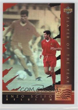 1994 Upper Deck World Cup English/Spanish - Player of the Year #WC8 - Enzo Scifo