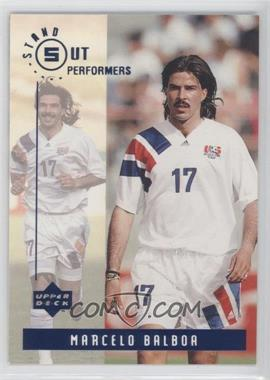 1994 Upper Deck World Cup English/Spanish - Standout Performers #S6 - Marcelo Balboa