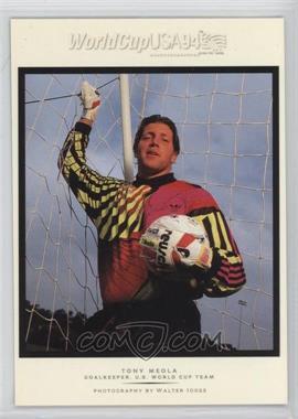 1994 Upper Deck World Cup English/Spanish - Walter Ioss Portraits #WI6 - Tony Meola