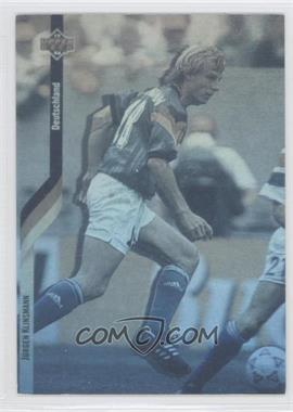 1994 Upper Deck World Cup English/Spanish German Holograms #D2 - Jurgen Klinsmann