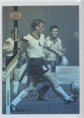 1994 Upper Deck World Cup English/Spanish German Holograms #D3 - Jurgen Kohler