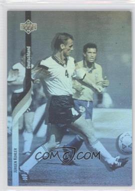 1994 Upper Deck World Cup English/Spanish German Holograms #D3 - Jurgen Kohler