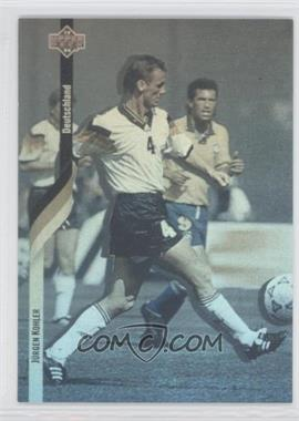 1994 Upper Deck World Cup English/Spanish German Holograms #D3 - [Missing]