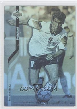 1994 Upper Deck World Cup English/Spanish German Holograms #D5 - Karlheinz Riedle