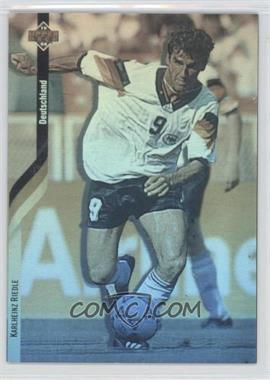 1994 Upper Deck World Cup English/Spanish German Holograms #D5 - Karlheinz Riedle