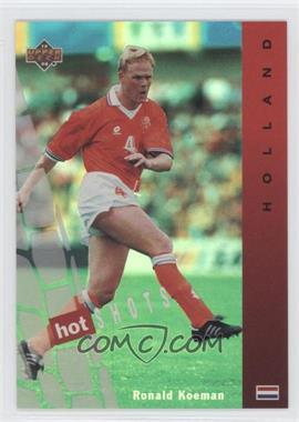 1994 Upper Deck World Cup English/Spanish Hot Shots #HS1 - Ronald Koeman