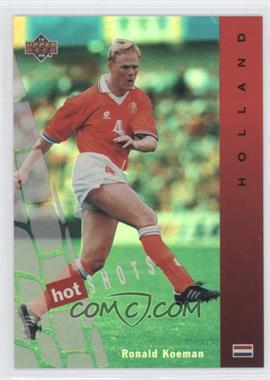1994 Upper Deck World Cup English/Spanish Hot Shots #HS1 - Ronald Koeman