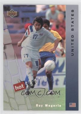 1994 Upper Deck World Cup English/Spanish Hot Shots #HS9 - Roy Wegerle