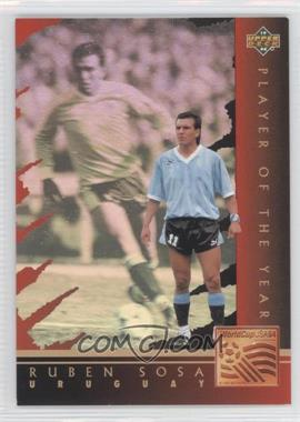 1994 Upper Deck World Cup English/Spanish Player of the Year #WC7 - Ruben Sosa