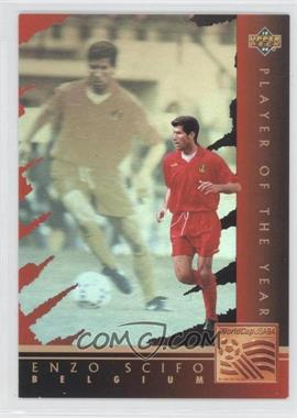 1994 Upper Deck World Cup English/Spanish Player of the Year #WC8 - Enzo Scifo