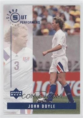 1994 Upper Deck World Cup English/Spanish Standout Performers #S10 - John Doyle