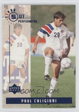1994 Upper Deck World Cup English/Spanish Standout Performers #S2 - Paul Caligiuri
